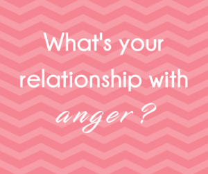 Women leaders respond to the question, what's your relationship with anger?